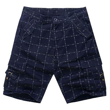 Uomo pantaloncini bermuda pants al ginocchio per BLU 32 33