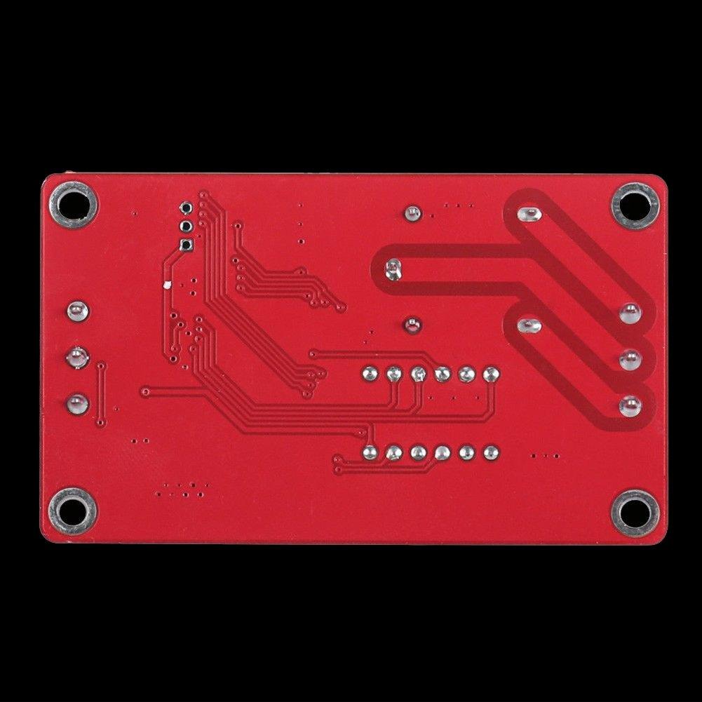 XZANTE 12V Relais /à Verrouillage Automatique Relais Temporis/é Du Cycle De LAutomate Programmable