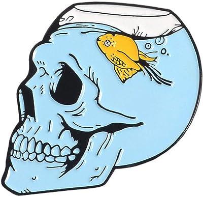 pin's épinglette tête de mort 4