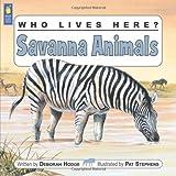 Savanna Animals, Deborah Hodge, 1554530725
