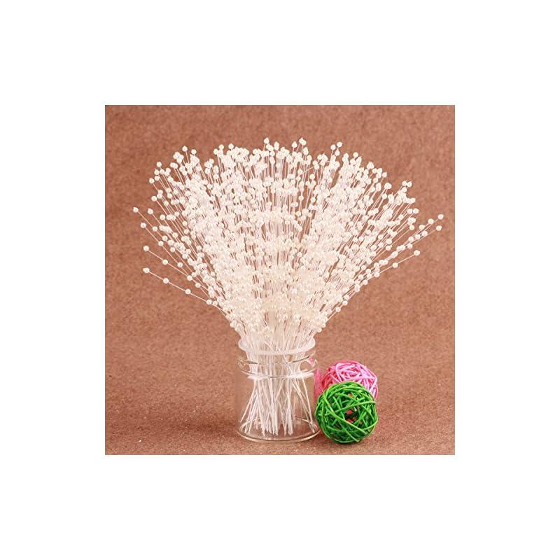 silk flower arrangements cjsir pearl spray 100stems 4mm beads wedding bouquet centerpiece decoration crafting diy accessory