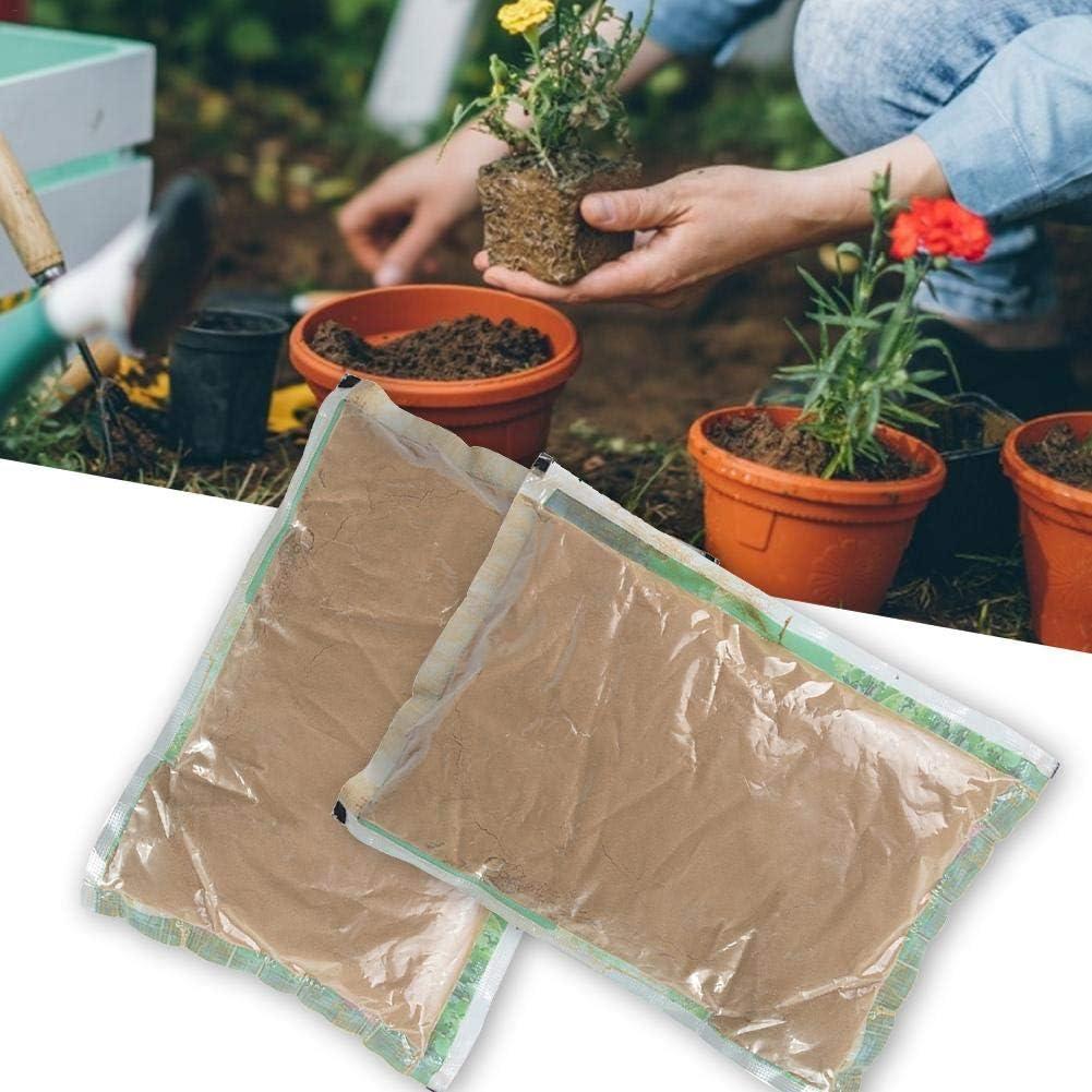 400 g paquete de 2 Suelo acu/ático para plantas de estanque estanque de loto natural Planta de barro Cultivo de tierra para macetas para agua Lily Bowl Cultivo de semillas de plantas acu/áticas Lotus