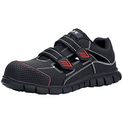 LARNMERN Men's Steel Toe Work Safety Sandals Summer Safety Shoes Quick-Drying: Shoes