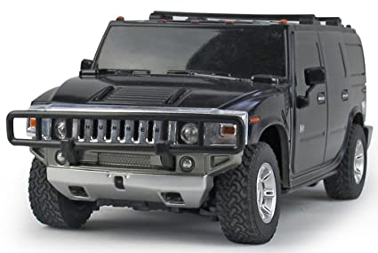 Buy 1:24 Remote Controlled H2 Hummer Car With Rechargeable Batteries ...