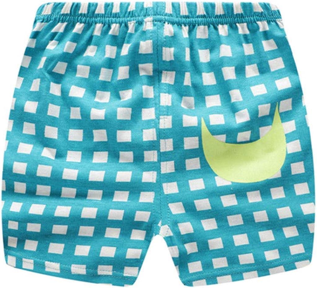 Infant Baby Boy Girl Cute Stripe Dot Print Short Sleeve T-Shirt Tops Shorts Summer Outfit Set Toddler Kids Clothes