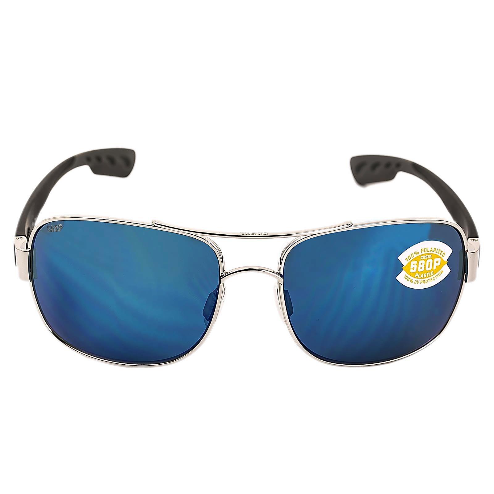 Costa Del Mar Cocos Sunglasses, Palladium, Blue Mirror 580P Lens