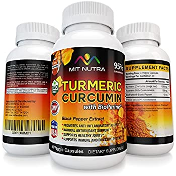 Amazon Com 2017 18 Best Selling Turmeric Curcumin With