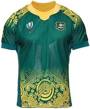 YHANS Camisetas de Rugby para Hombre,Copa Mundial de Rugby ...