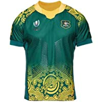 Rugby World Cup Australia Wallabies Rugby Jersey Polyester Dries Fast T-Shirt