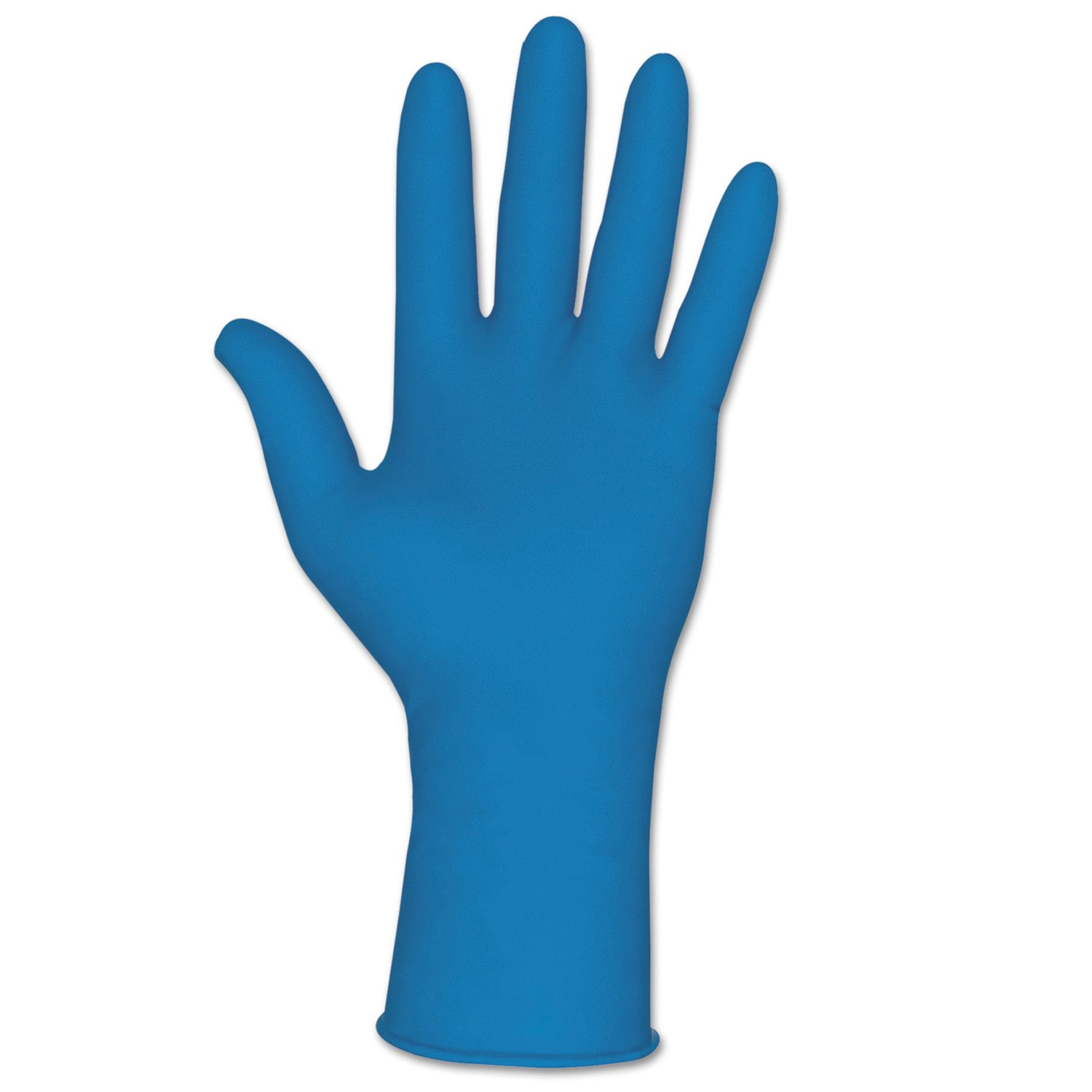 Memphis Glove 5049XL Disposable Latex Gloves, Textured Grip, Powder Free, 11 mil, X-Large, Blue (Pack of 500)