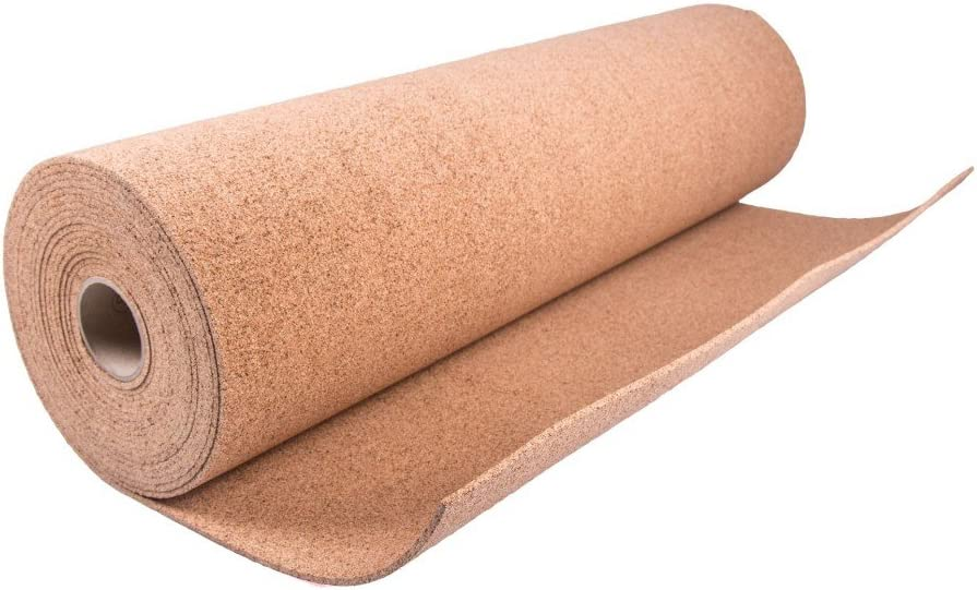 10m2 THICKNESS 4 mm top.eco.wall PINBOARD CORK ROLL ACOUSTIC WALL SHEET 1m x 10m x 4mm
