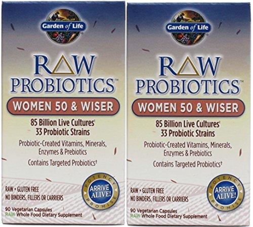 Garden Probiotics Women Wiser Capsules