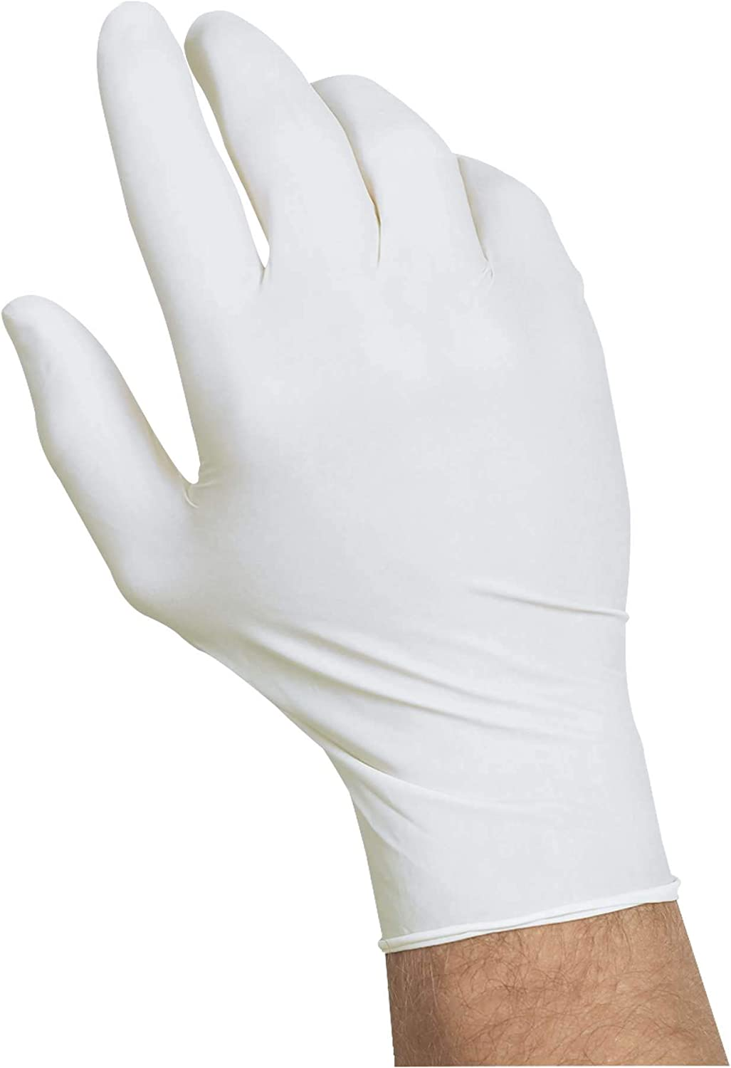 Disposable Protective Gloves,Latex Safety Working Gloves 50 Pairs No Powder Nitrile Industrial Glove