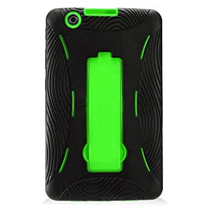 LG G Pad X 8.0 Case, IECUMIE ARMOR Skin Protective Cover Case w/ Built-in Kick Stand for LG G Pad X, 8.0 - Green (Package Include an IECUMIE Stylus Pen)