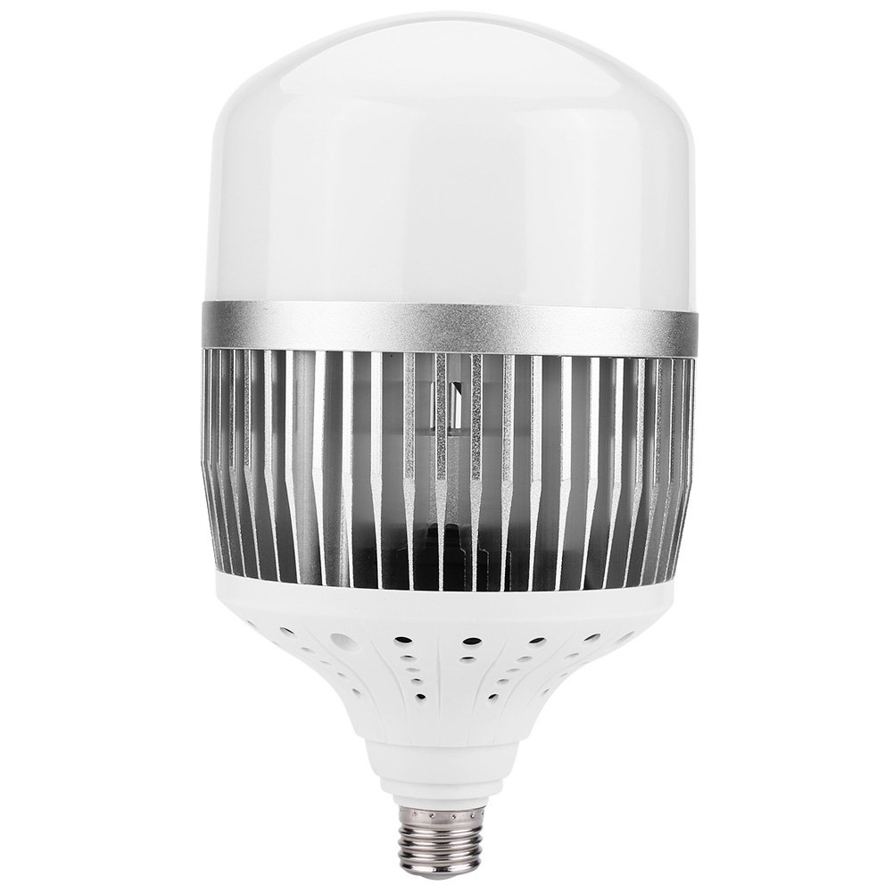 150W LED High Bright Bay Light Bulb, E27 Cool White 6000K Daylight 4400Lm E26 Base, 270° Flood Light Bulb for Indoor Outdoor Wide Area, LED Street Lamp Post Lighting Garage Factory Warehouse High Bay by Walfront