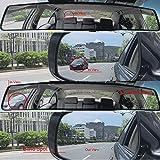 "ZENAN Rear View Mirror, 17.7"" Interior Blind Spot"