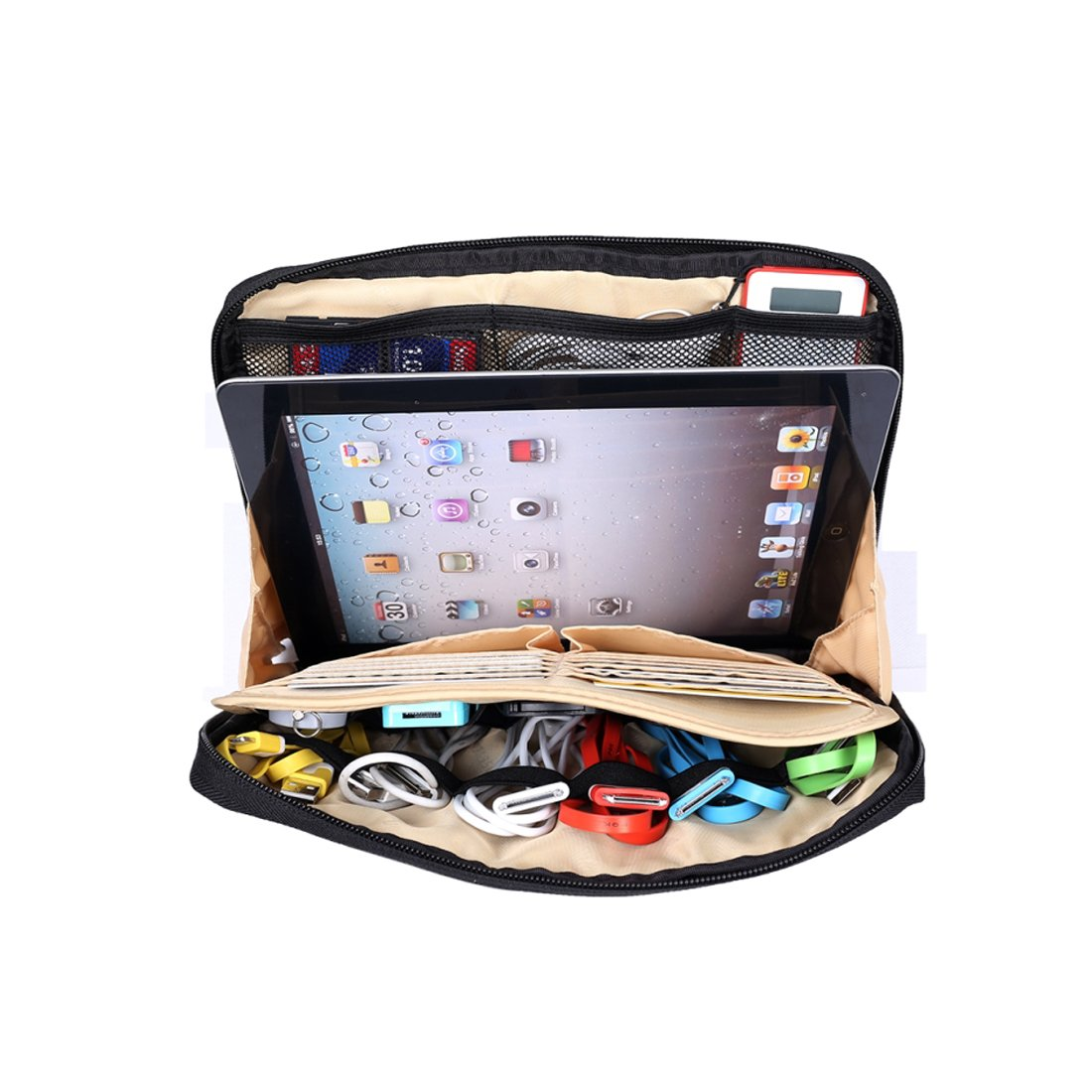 Amazon.com: BUBM Portable Universal Electronics Accessories Travel ...