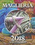 Maglieria 2018 Calendario (Edizione Italia) (Italian Edition)