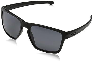 oakley sliver polarized sunglasses wizv  Oakley Mens Sliver XL Polarized Sunglasses, Matte Black/Grey, One Size