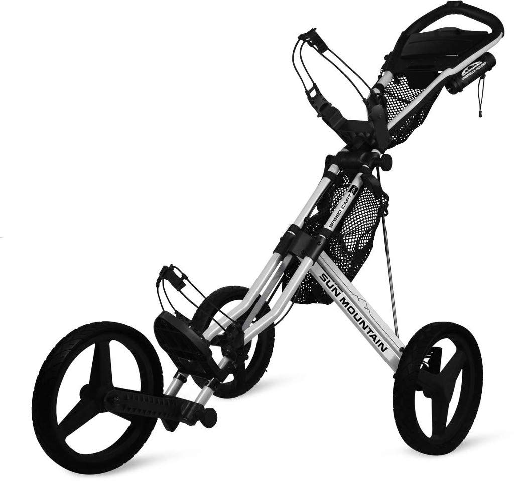 Sun Mountain Speed Cart Gx Push Cart Silver/Black