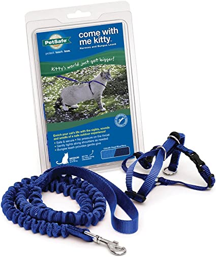 PetSafe Come with Me Kitty Harness and Bungee Leash Harness for Cats