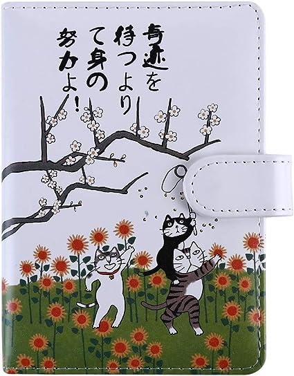 Sunskyoo Diario De Mano Con Diseno De Gato De Dibujos Animados