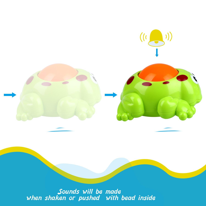 Peradix Juguetes de baño Animales Flotadores 3PCS