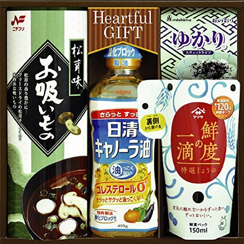 Nisshin canola oil and a drop of soy sauce freshness assorted IS-20 by SenjuDo