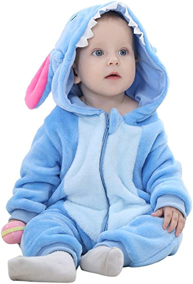 Bebé niña niño Unisex disfraz de animales Shape disfraz traje ...