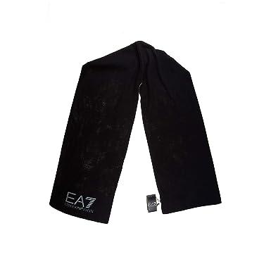 Emporio Armani EA7 écharpe femme train graphic hood noir  Amazon.fr ... 3d254ac321e