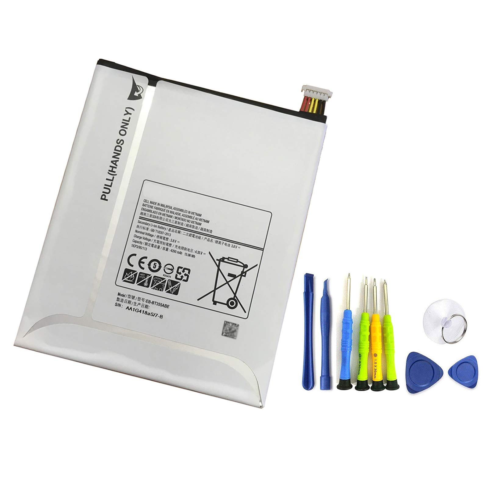 Bateria Tablet EB-BT355ABE Galaxy TAB A 8 SM-T350 T355C Tab5