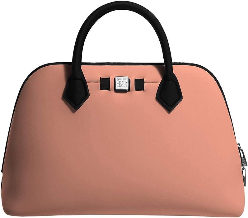 259a3b9c5ac0a7 Save My Bag Princess Midi Women's Handbag Pink: Amazon.co.uk: Clothing