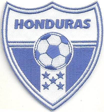 MAREL Patch Honduras Escuadra Selección Fútbol FIFA Soccer Parche termoadhesivo Bordado cm 7,5 x