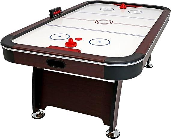 Sunnydaze Mesa de Hockey de Aire de 7 pies – Juego de Arcade para ...