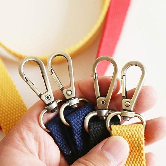Accesorio de Repuesto para Bolso Bandolera Faderr Correa Ajustable de Lona para Bolso de Hombro Tama/ño Libre 130 cm Amarillo