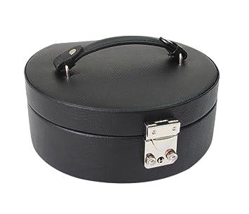 Amazoncom Morelle Co Linda Half Moon Leather Jewelry Box Home