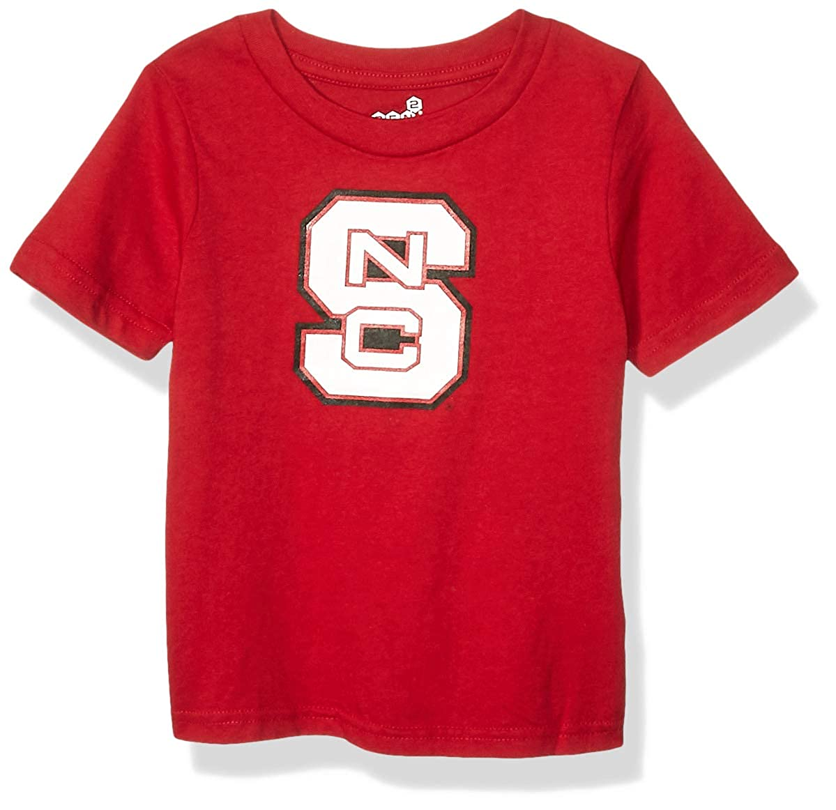 18 Months Dark Red Outerstuff NCAA North Carolina State Wolfpack Infant Primary Logo Short Sleeve Tee