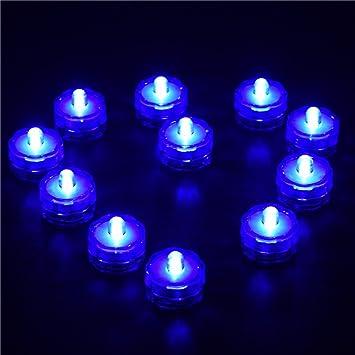 samber 12pcs led flameless candles tea lights electric christmas candles waterproof led candle lamp led battery - Electric Christmas Candles