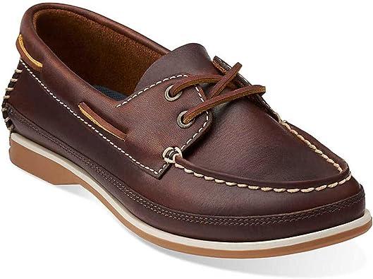 chaussures cuir marron femme décontractée