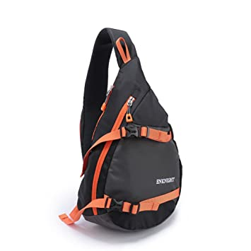 Amazon.com: ENKNIGHT Waterproof Chest Bag Casual Sling Bag ...