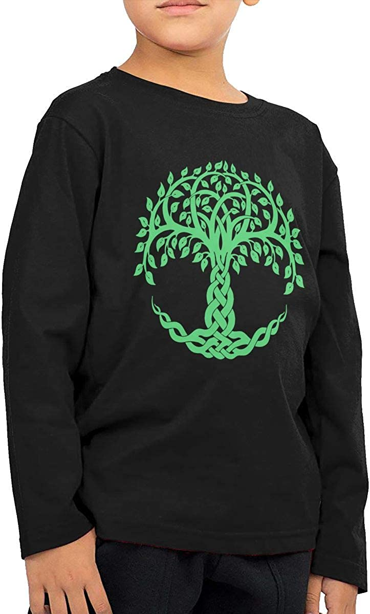 CERTONGCXTS Toddler Tree of Life ComfortSoft Long Sleeve Shirt