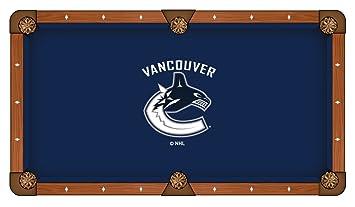 4f56df7c461 Amazon.com  Holland Bar Stool Co. Vancouver Canucks Pool Table Cloth ...