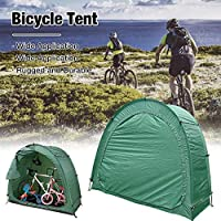 Outdoor Storage Shed Portable Foldable Bike Tent Space Saving Bicycle Garden Pool Storage Shed Durable Polyester Waterproof Anti-Dust