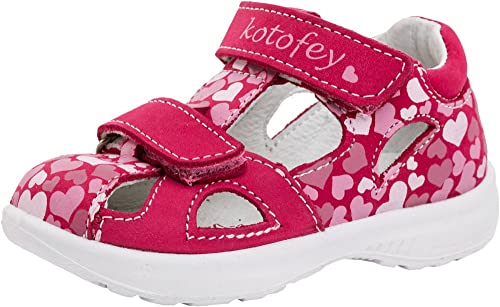 7005ad94a Kotofey Toddler Girl Red Sandals 122098-21 Orthopedic