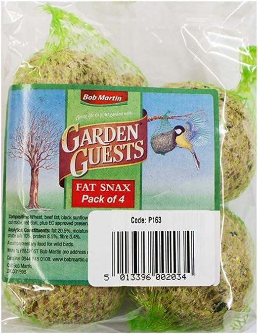 Jardín bolas de grasa para pájaros silvestres alimentos: Amazon.es: Productos para mascotas