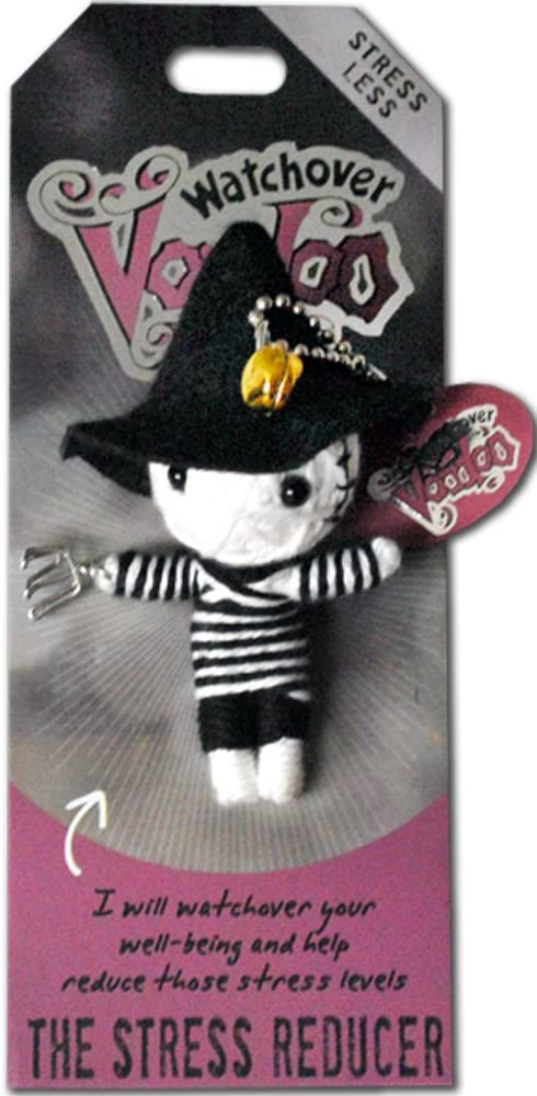 """3/"""" New Lucky Charm Watchover Voodoo Doll Poo Hoo"""