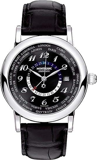 Montblanc Star mundo tiempo GMT Mens Reloj 106464