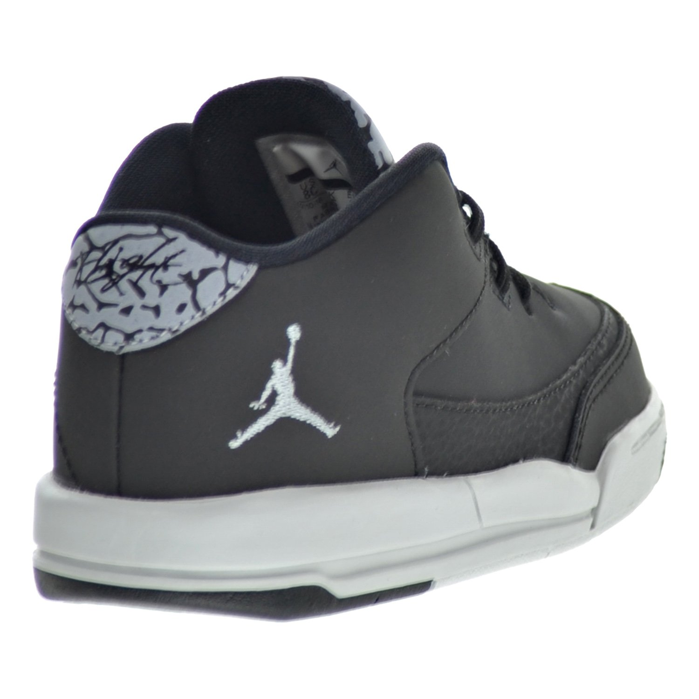 buy popular 83a6c 58d54 Amazon.com   Jordan Flight Origin 3 BT Toddler s Shoes Black Silver Pure  Platinum 820248-020 (7 M US)   Sneakers