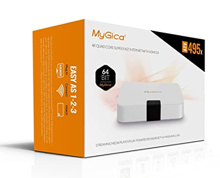 Geniatech MyGica Android TV Box Streaming Media Player With KODI HD CapX