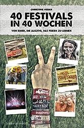 40 Festivals in 40 Wochen   Von einer. die auszog. das Feiern zu lernen von Christine Neder (2012) Broschiert